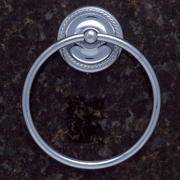 Jvj Hardware Prestige Series Towel Ring