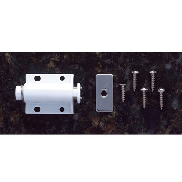 Jvj Hardware Single Touch Latch With Strike And Screws