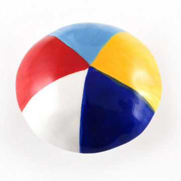 Nifty Nob Beach Ball Cabinet Knob
