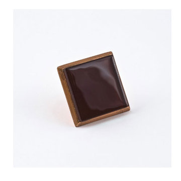 Nifty Nob Merlot Knob In Copper Finish