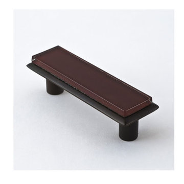 Nifty Nob Merlot Pull In Oil Rubbed Bronze Finish