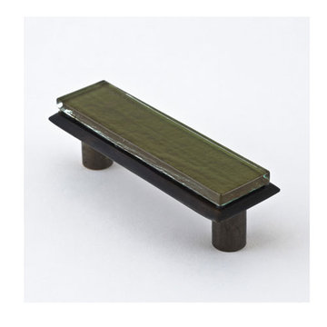 Nifty Nob Olive Pull In Oil Rubbed Bronze Finish