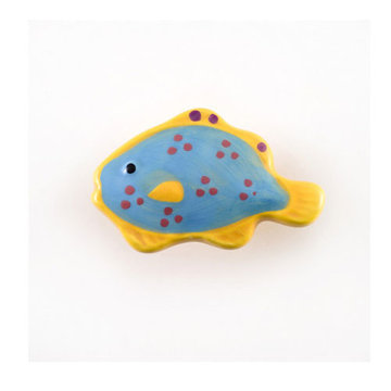 Nifty Nob Polka Dotted Tropical Fish Knob