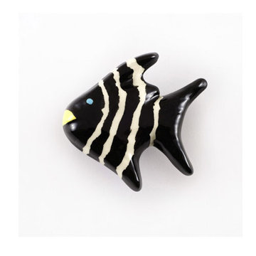 Nifty Nob Striped Angel Fish Knob