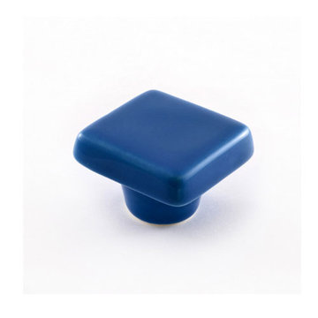 Nifty Nob True Blue Square Cabinet Knob