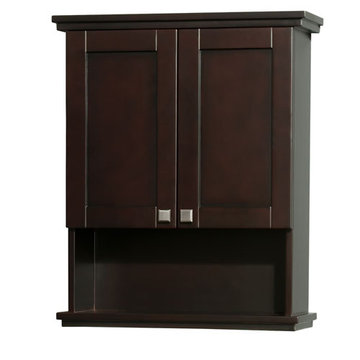Wyndham Acclaim Espresso Wall Cabinet