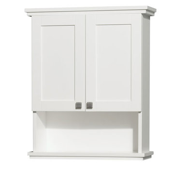 Wyndham Acclaim White Wall Cabinet