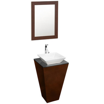 Wyndham Esprit Custom Bathroom Vanity With White Porcelain Sink