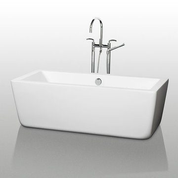 Wyndham Laura 58 Inch Soaking Bath Tub