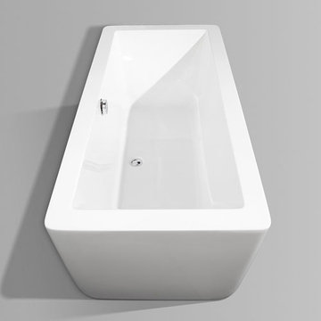 Wyndham Laura 66 Inch Soaking Bath Tub