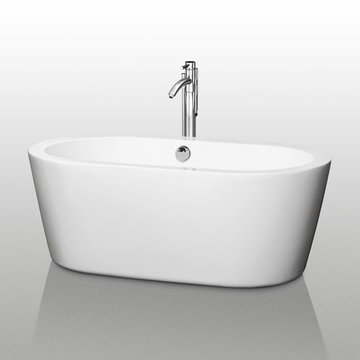 Wyndham Mermaid 60 Inch Soaking Bath Tub