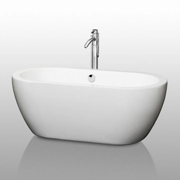 Wyndham Soho 59 Inch Soaking Bath Tub