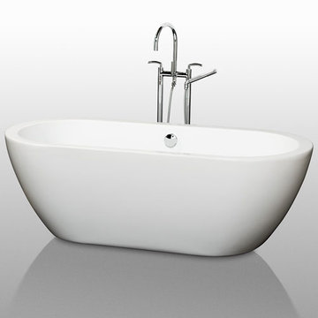 Wyndham Soho 68 Inch Soaking Bath Tub