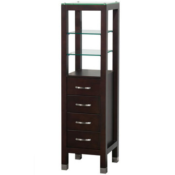 Wyndham Tavello Espresso Linen Tower