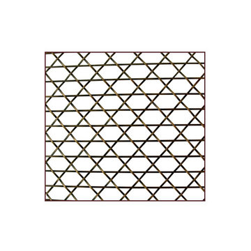 Klise Caned Wire Mesh Grille With 3/4 Inch Spacing