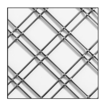 Klise Press Crimp Wire Mesh Grille