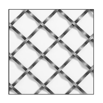 Klise Double Crimp Wire Grille With 1 1/4 Inch Spacing