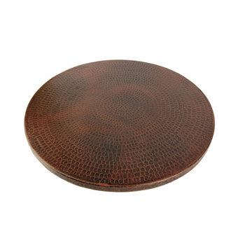 Premier Copper 20 Inch Hand Hammered Copper Lazy Susan