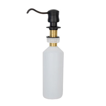 Premier Copper Solid Brass Soap Dispenser
