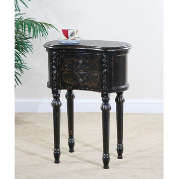 Astoria Kidney Shaped End Table