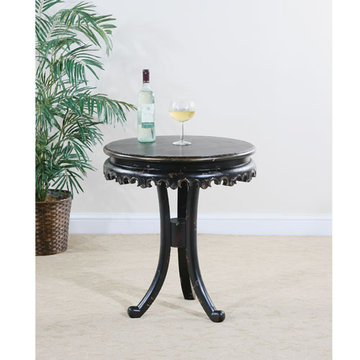 Astoria Round Pedestal Base End Table