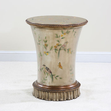 Beaucoup Skirted End Table