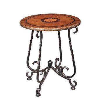 Circa Round Lamp Table