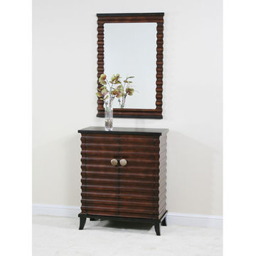 Contempo Copper Two Door Console