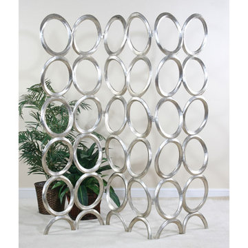 Contempo Silver Oval Screen
