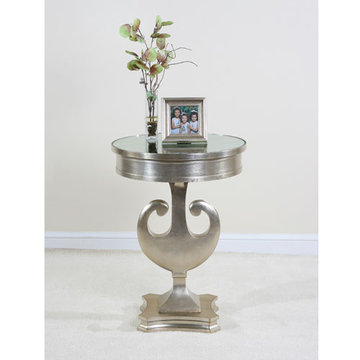 Contempo Silver Side Table