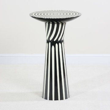 Contempo Striped Martini Table
