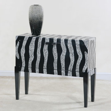 Contempo Zebra Hall Console