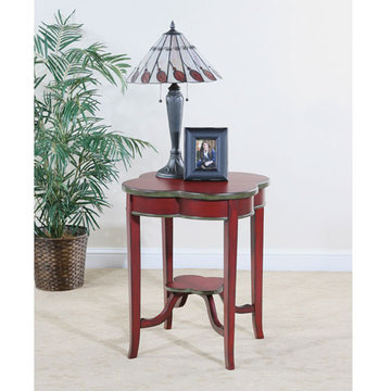 Crimson Clover End Table