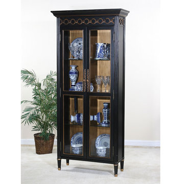 Genoa Two Door Curio Cabinet