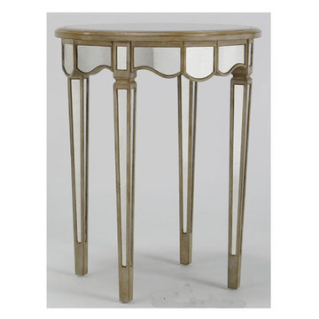 Manhattan Round End Table