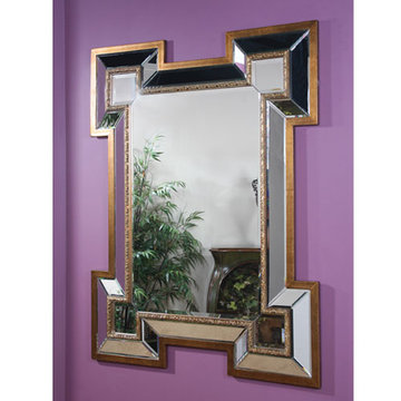 Marbella Greek Key Mirror