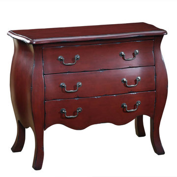 Ming Red Bombay Chest