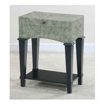 Myriad Foliage Trunk End Table