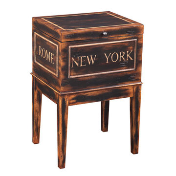 New York Storage Accent Table