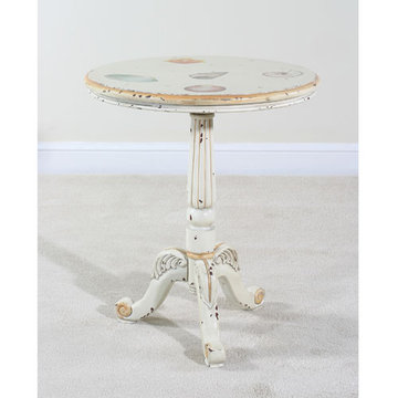 Sandtiques Pedestal End Table