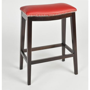 Southwest 24 Inch Barstool - Pepper Red