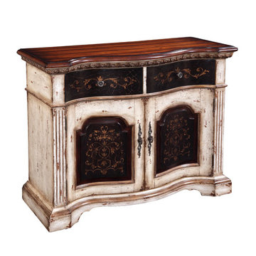 Two Drawer Two Door Console
