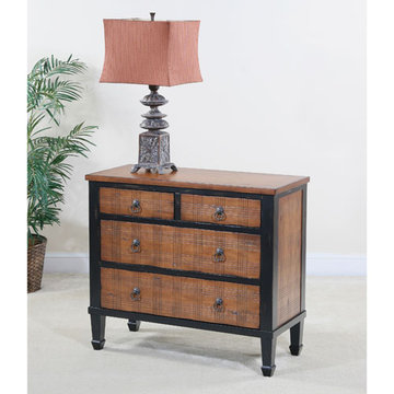 Wexford Four Drawer Plaid Chest