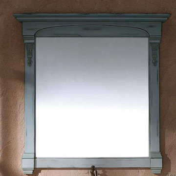 James Martin Brookfield 39 1/2 Inch Antique Ocean Mirror