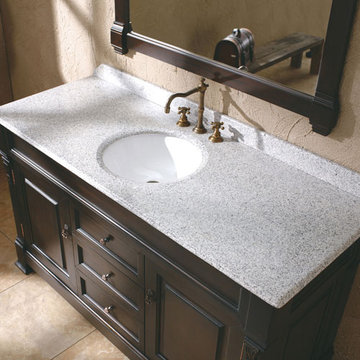 James Martin Brookfield 60 Inch Carrera Marble Countertop Only With Sink
