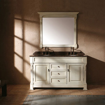James Martin Brookfield 60 Inch Cottage Double Vanity Cabinet Only