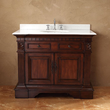 James Martin Classico 43 Inch Single Bathroom Vanity