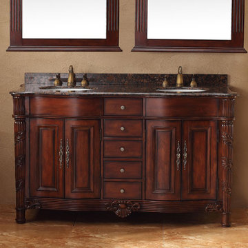 James Martin Classico 60 Inch Double Bathroom Vanity