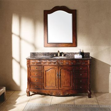 James Martin Classico 60 Inch Tanya Cherry Bathroom Vanity
