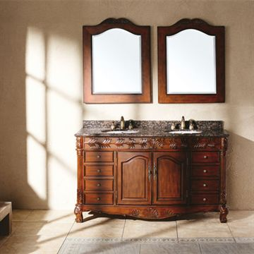 James Martin Classico 60 Inch Tanya Cherry Double Bathroom Vanity